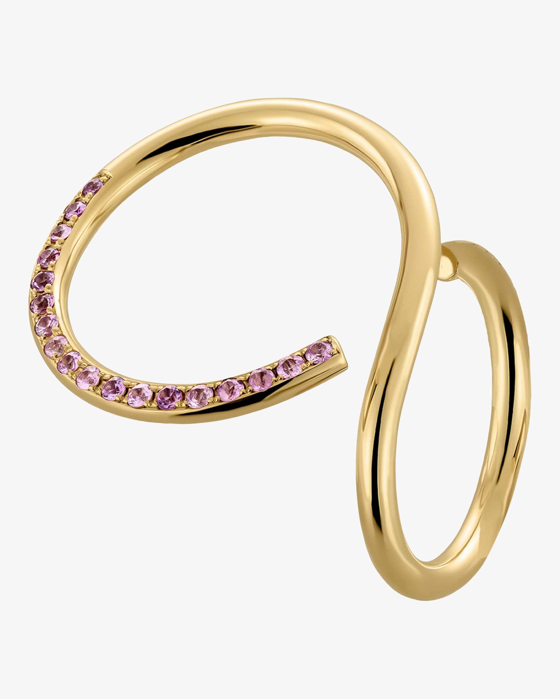 Nayestones Curl Sapphire Ring 1