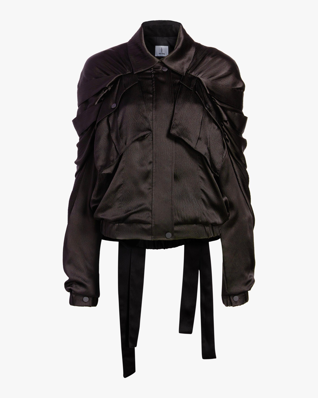 Judy Zhang Ribbon Bomber Jacket 0