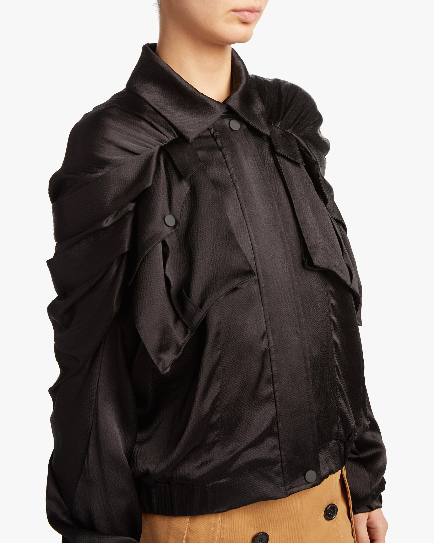 Judy Zhang Ribbon Bomber Jacket 3