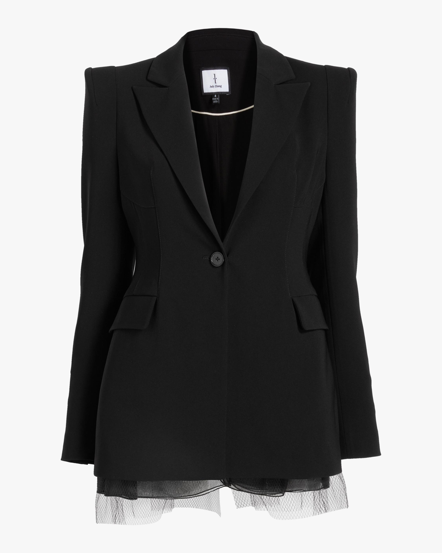 Judy Zhang Bustle Blazer Jacket 0