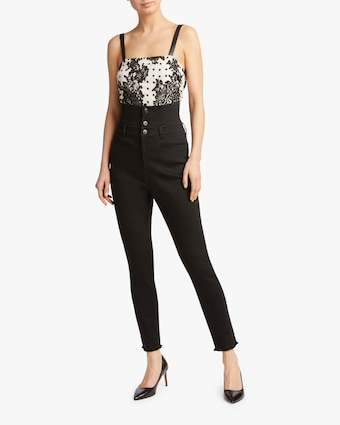 Judy Zhang Skinny High-Waisted Jeans 2