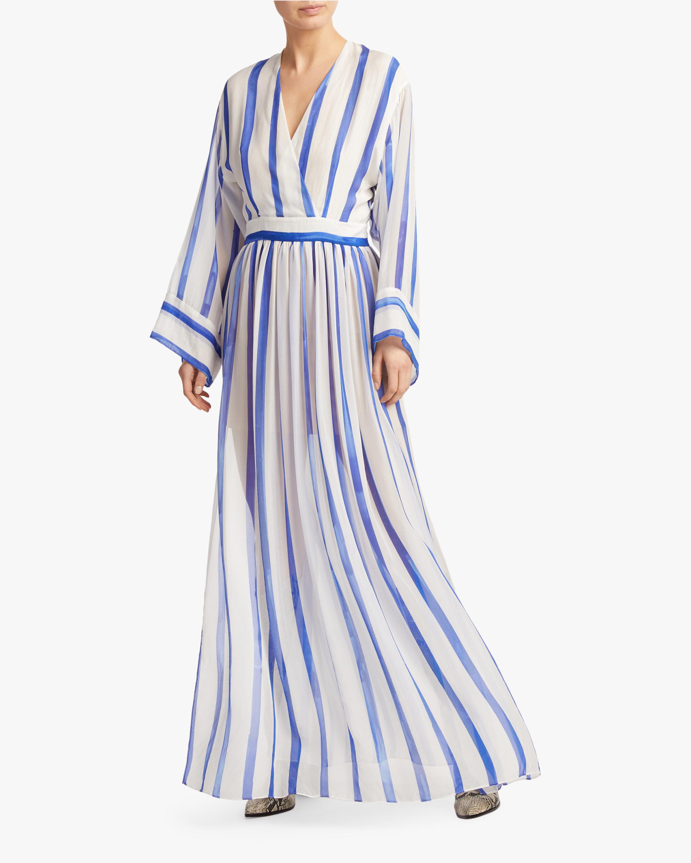 Judy Zhang V Neck Tea Dress 2