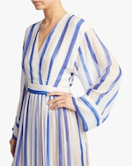 Judy Zhang V Neck Tea Dress 3