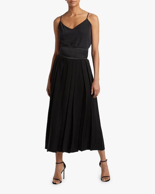 Judy Zhang Pleated High-Waisted Pants 1