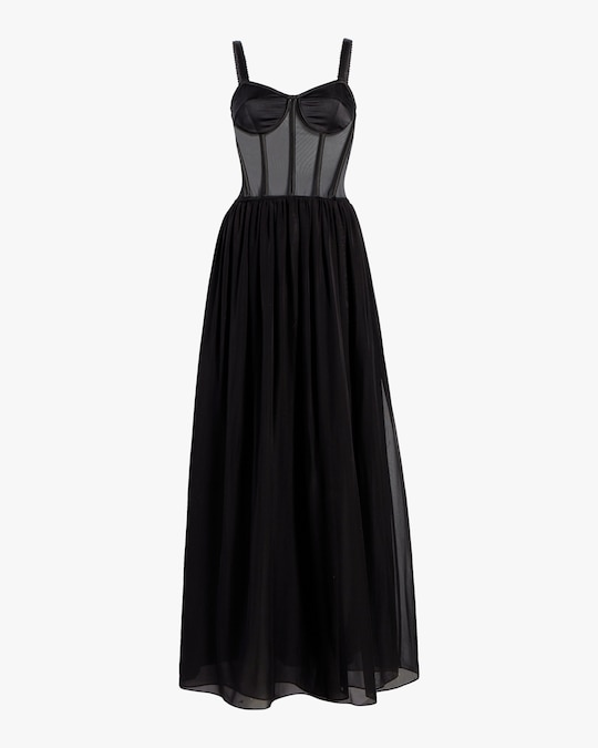 Judy Zhang Bustier Slip Dress 0