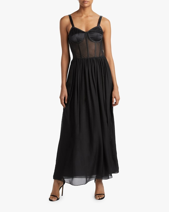 Judy Zhang Bustier Slip Dress 1