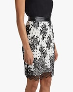 Judy Zhang Lace Pencil Skirt 3