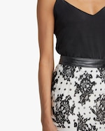 Judy Zhang Lace Pencil Skirt 4