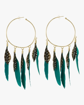 Thoth's Hoop Earrings