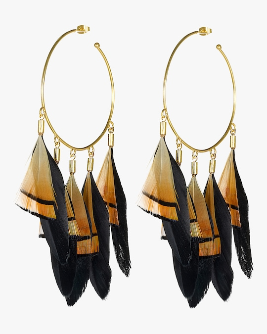 Mercedes Salazar Thoth's Hoop Earrings