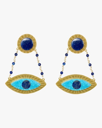 Eye See You Drop Earrings