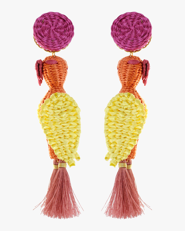 Mercedes Salazar Forest Cockatoo Earrings 2