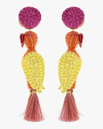 Forest Cockatoo Earrings