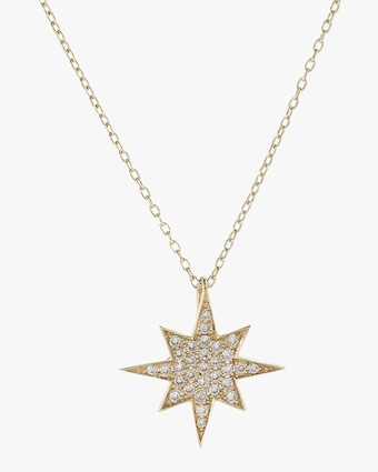 Starburst Inner Pendant Necklace