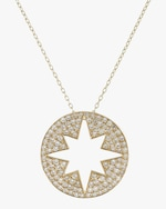 Ankha Starburst Outer Pendant Necklace 0