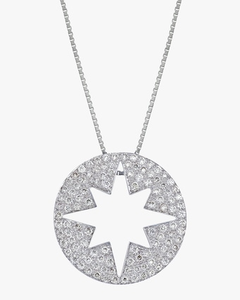 Starburst Outer Pendant Necklace