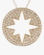 Ankha Starburst Outer Pendant Necklace 2