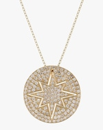 Ankha Starburst Outer Pendant Necklace 3