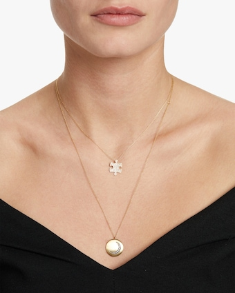 Jigsaw Puzzle Inner Pendant Necklace