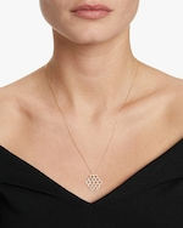 Ankha Honeycomb Pendant Necklace 1