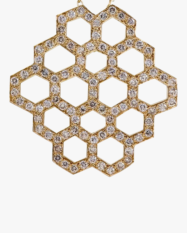 Ankha Honeycomb Pendant Necklace 3