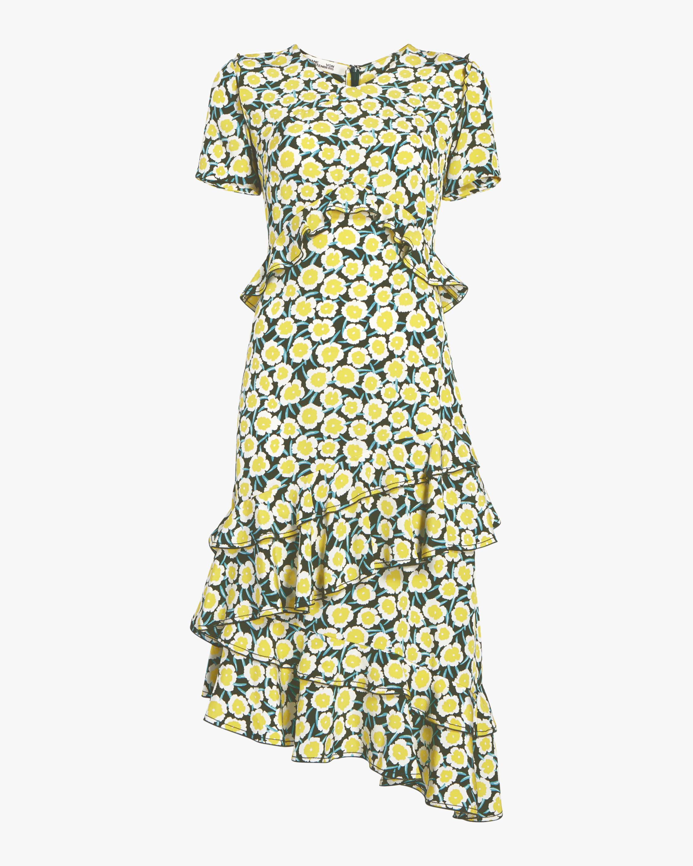 Diane von Furstenberg Glenys Asymmetrical Dress 0