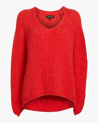 Joseph V Neck Sweater