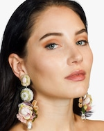 Ranjana Khan Teresa Clip-On Earrings 1
