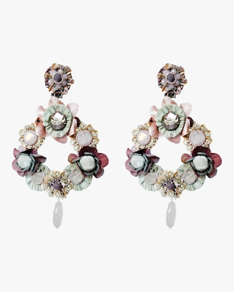 Floriana Clip-On Earrings