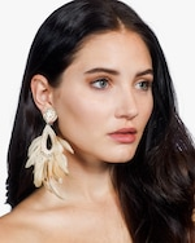 Ranjana Khan Blanca Clip-On Earrings 1