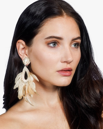 Blanca Clip-On Earrings