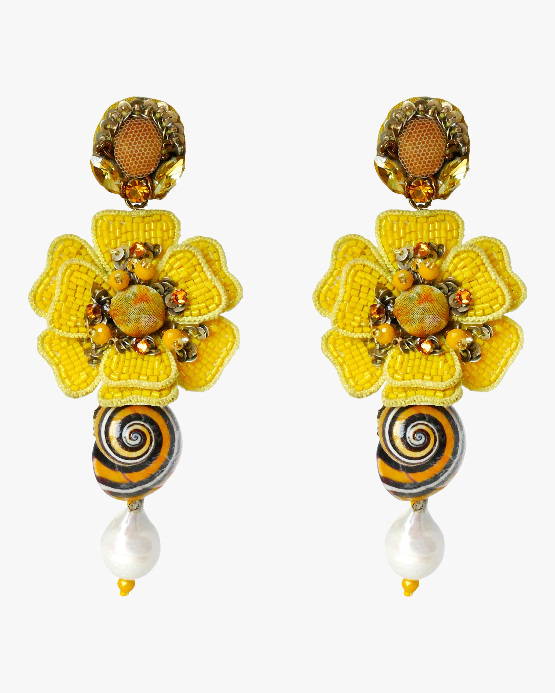 Ranjana Khan Reyna Clip-On Earrings 0