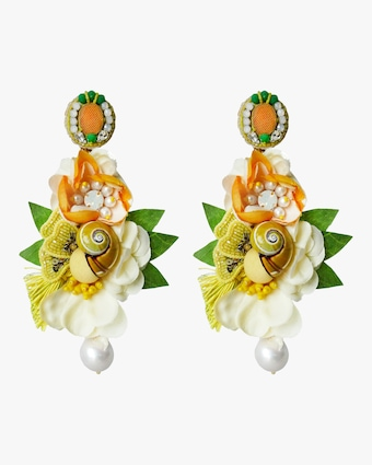 Ranjana Khan Esperenza Clip-On Earrings 1