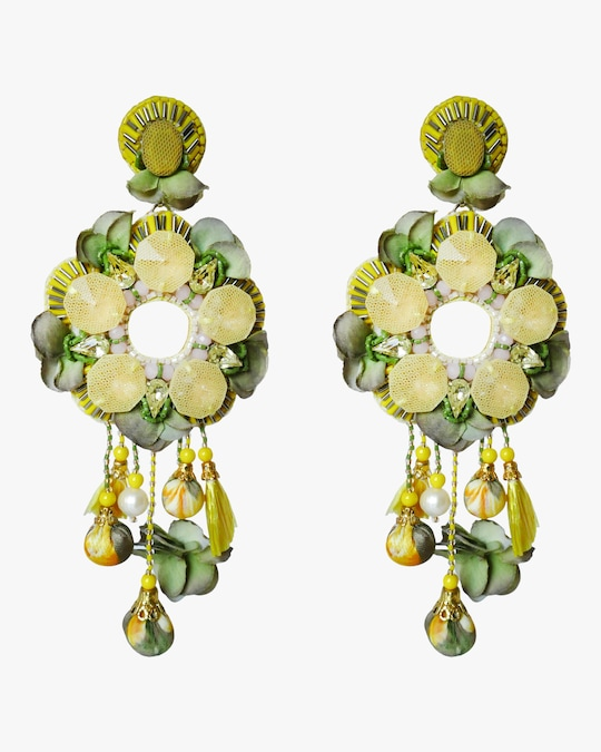 Ranjana Khan Gabriella Clip-On Earrings 0