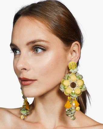 Ranjana Khan Gabriella Clip-On Earrings 2