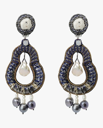 Nevara Clip-On Earrings