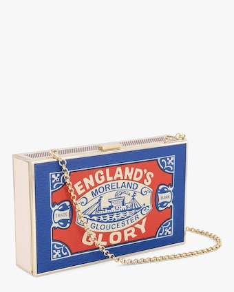 Anya Hindmarch England's Glory Matches Imperial Clutch 2