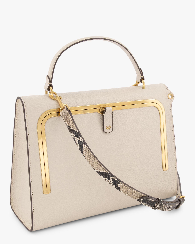 Anya Hindmarch Postbox Leather Handbag 1