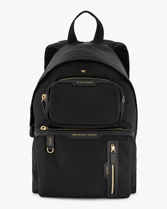 Anya Hindmarch Multi-Pocket Nylon Backpack 1