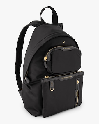 Anya Hindmarch Multi-Pocket Nylon Backpack 2