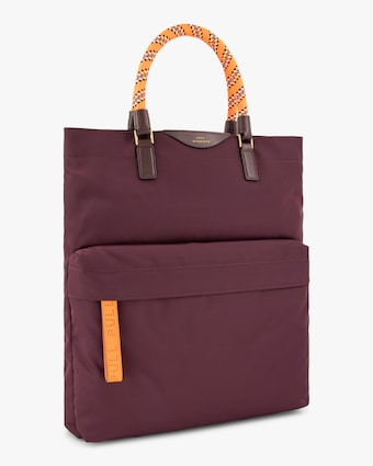 Bungee-Handle Nylon Tote