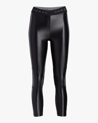 Koral Emblem High-Rise Cropped Leggings 1