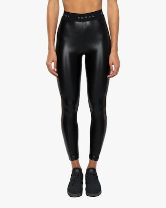 Koral Emblem High-Rise Cropped Leggings 2