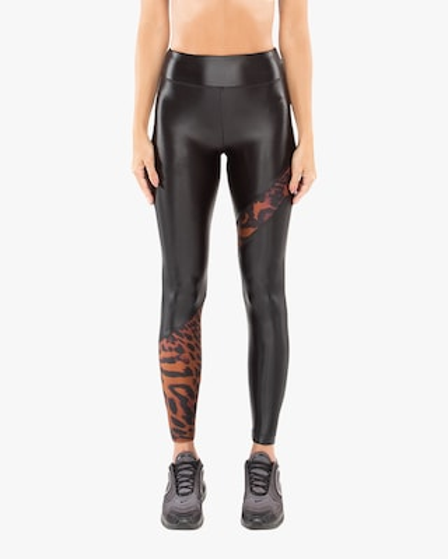 Koral Trek High-Rise Cheetah Leggings 2