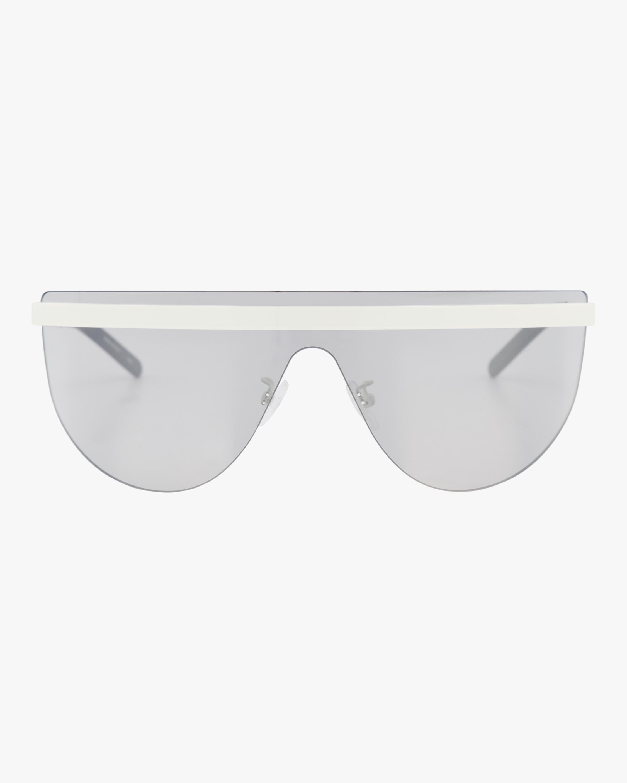 99mm Flat Top Shield Sunglasses