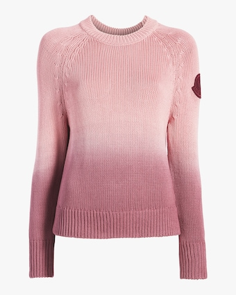 Ombré Crewneck Sweater