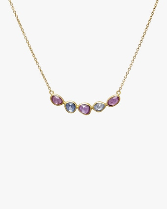 Gurhan Elements Hue Sapphire Bar Necklace 1