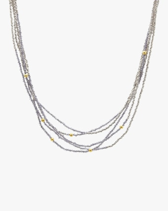 Iolite Waterfall Necklace