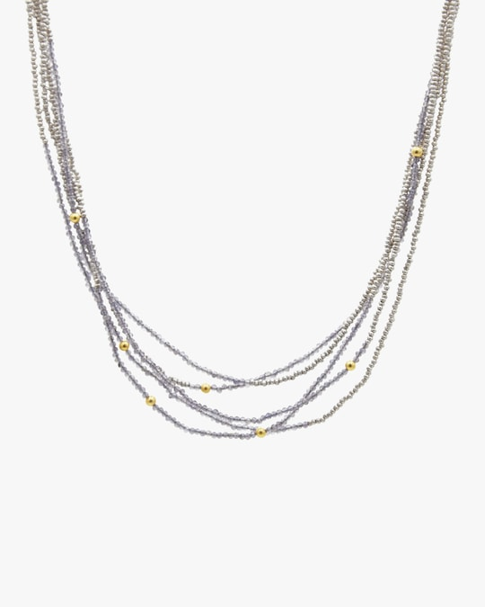 Gurhan Iolite Waterfall Necklace 0