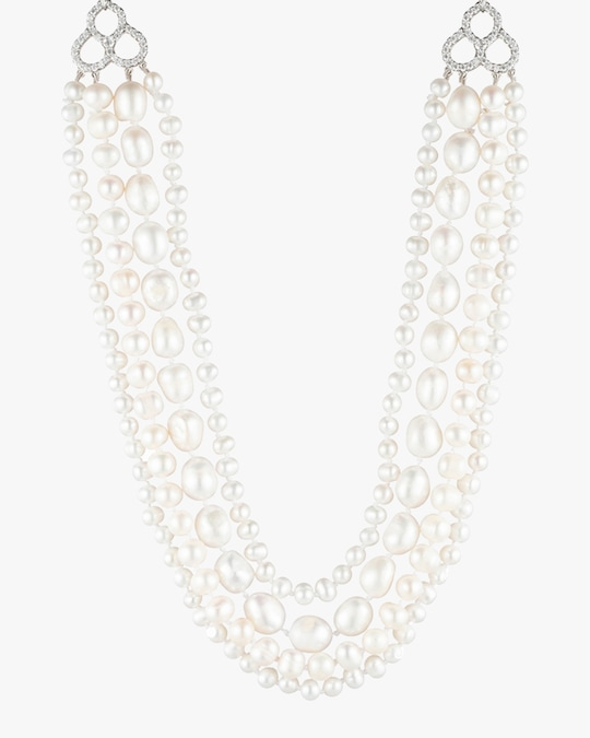Carolee Freshwater Pearl Layered Necklace 0